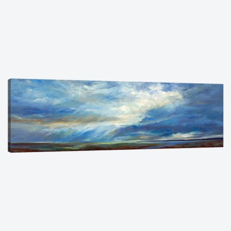 Heavenly Light Canvas Print #SHE10} by Sheila Finch Canvas Artwork