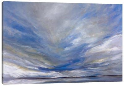 South Bay Storm Canvas Art Print