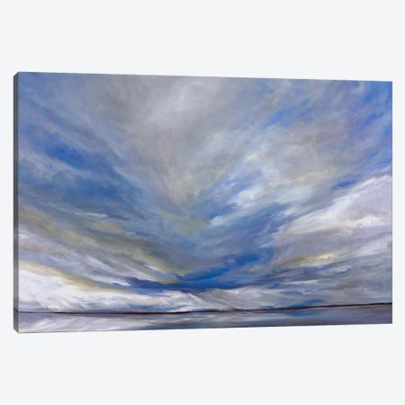 South Bay Storm Canvas Print #SHE12} by Sheila Finch Canvas Art