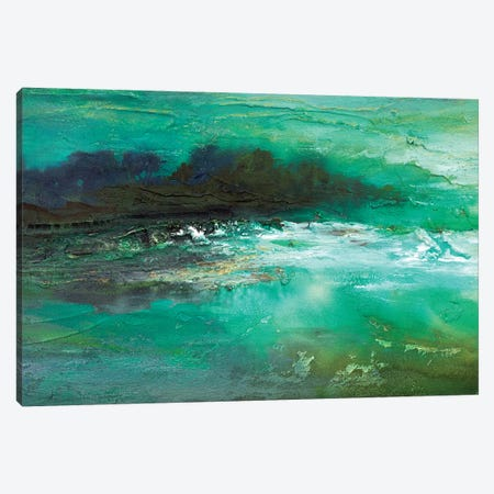 Dusk on The Coast  Canvas Print #SHE19} by Sheila Finch Canvas Wall Art