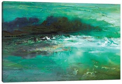 Dusk on The Coast  Canvas Art Print