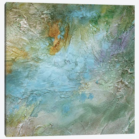 Pastel Currents II Canvas Print #SHE21} by Sheila Finch Art Print