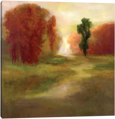 Autumn Trees Canvas Art Print