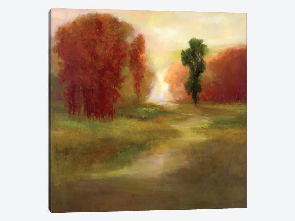 Autumn Trees by Sheila Finch 1-piece Canvas Artwork