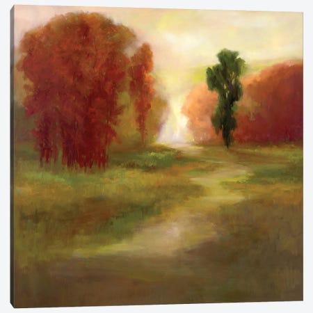 Autumn Trees Canvas Print #SHE27} by Sheila Finch Canvas Art