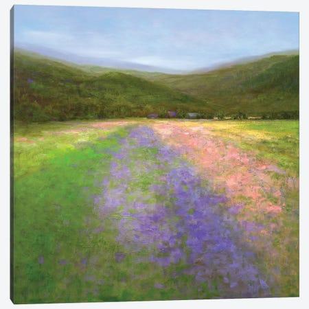 Flowers Of Half Moon Bay I Canvas Print #SHE28} by Sheila Finch Canvas Art Print