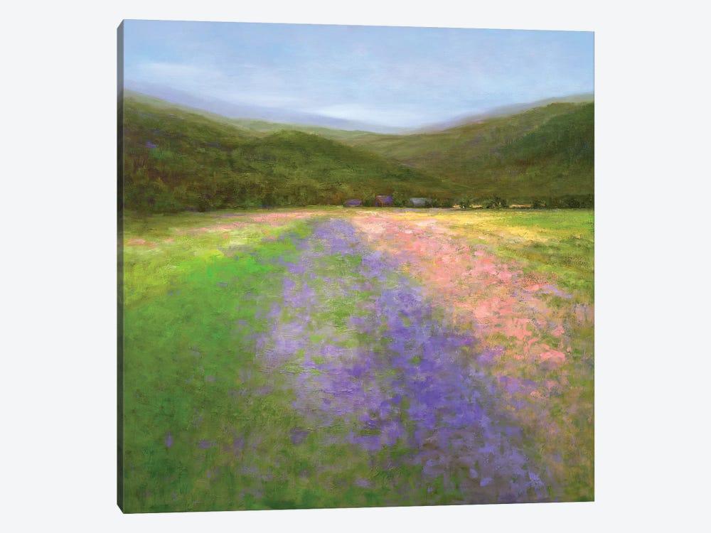 Flowers Of Half Moon Bay I by Sheila Finch 1-piece Canvas Art Print