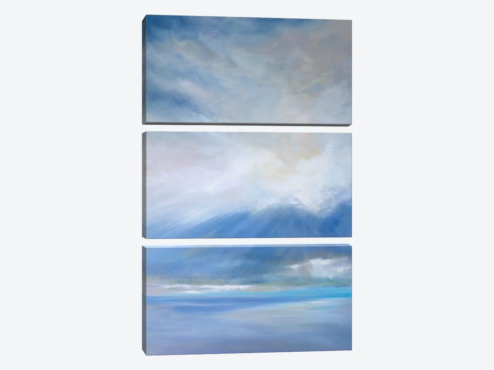 Heavenly Light II by Sheila Finch 3-piece Canvas Print
