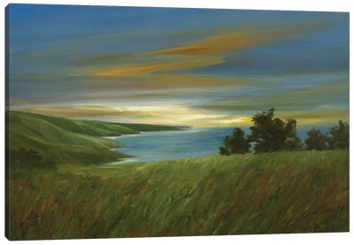 Sky At Dusk Canvas Art Print