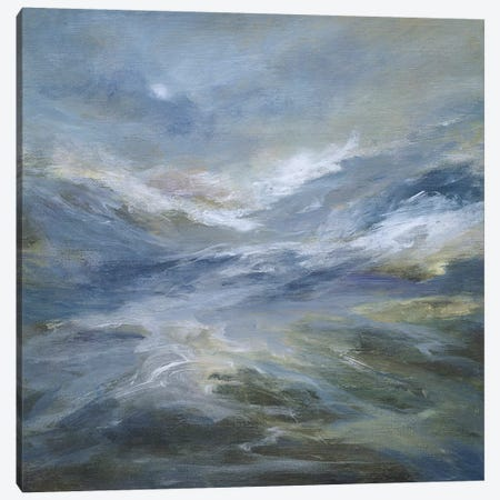 Calming of the Sea Canvas Print #SHE35} by Sheila Finch Art Print