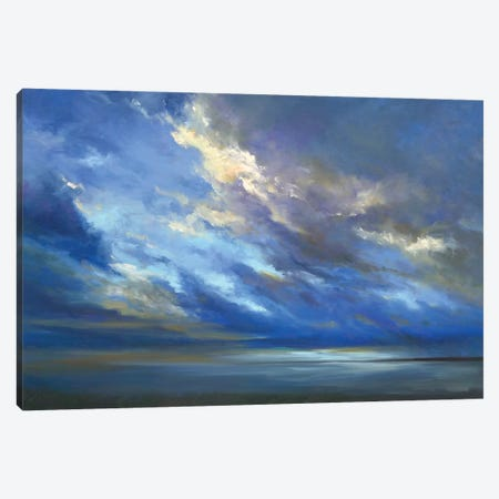 Coastal Sky II Canvas Print #SHE37} by Sheila Finch Art Print