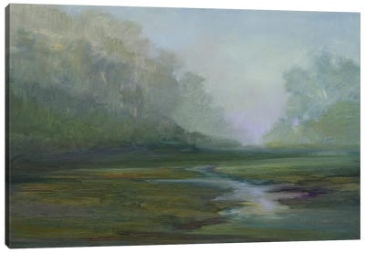 Early Morning Fog Canvas Art Print