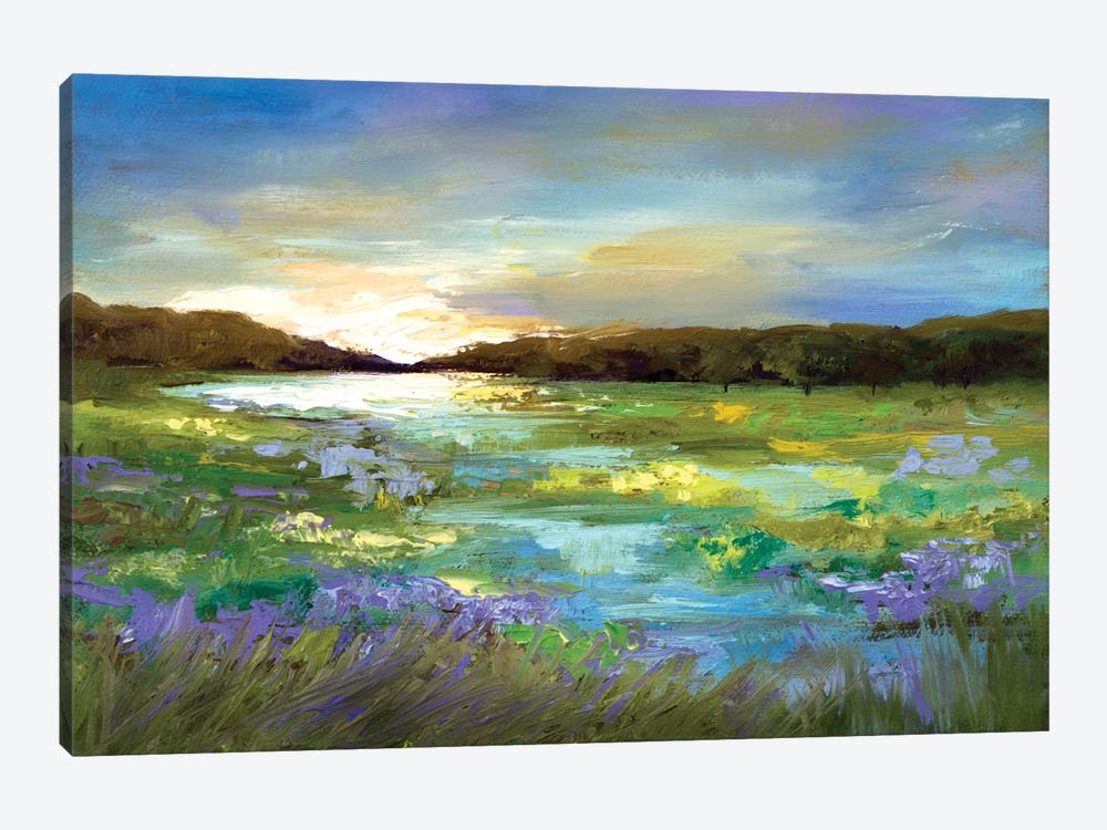 Radiant Evening by Sheila Finch 1-piece Canvas Wall Art