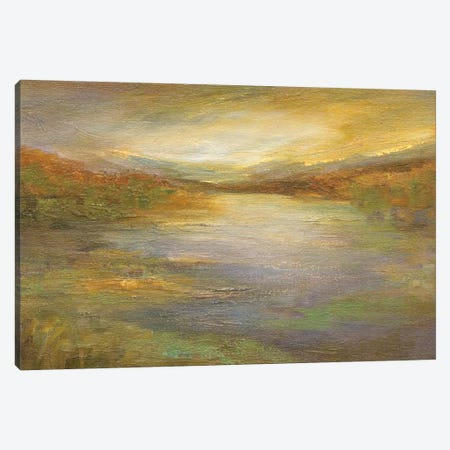 Foothills Canvas Print #SHE45} by Sheila Finch Canvas Artwork