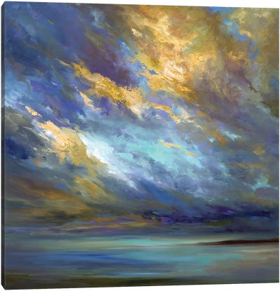 Coastal Clouds XXX Canvas Art Print