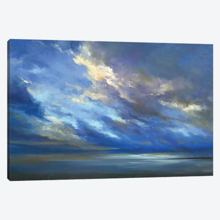 Coastal Sky II Canvas Print #SHE54} by Sheila Finch Art Print