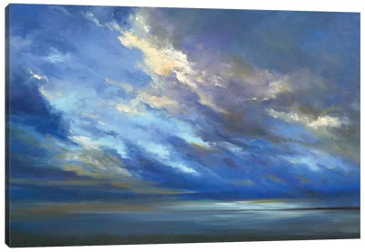 Coastal Sky II Canvas Art Print