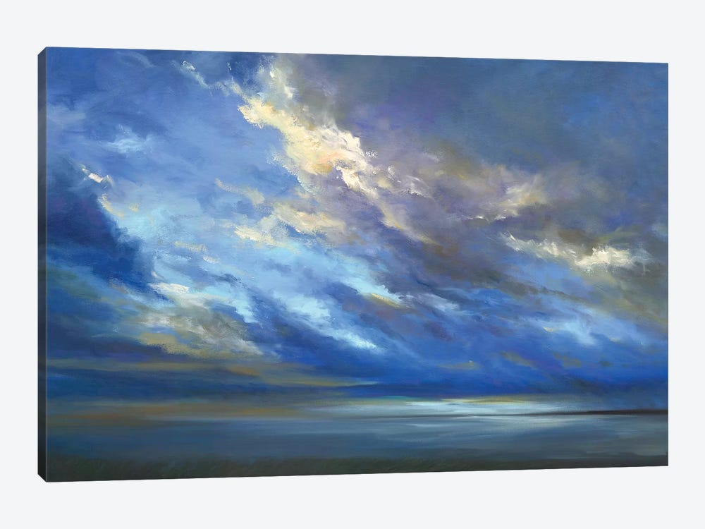 Coastal Sky II by Sheila Finch 1-piece Canvas Art