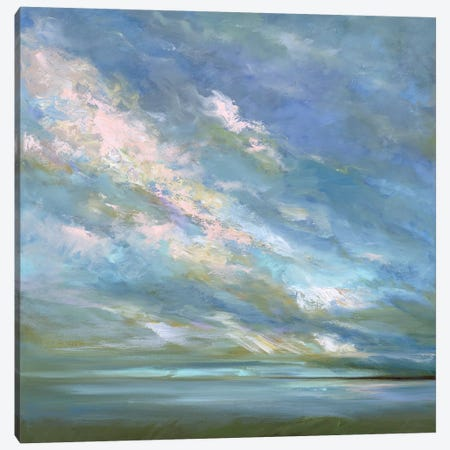 Coastal Sky III Canvas Print #SHE55} by Sheila Finch Art Print