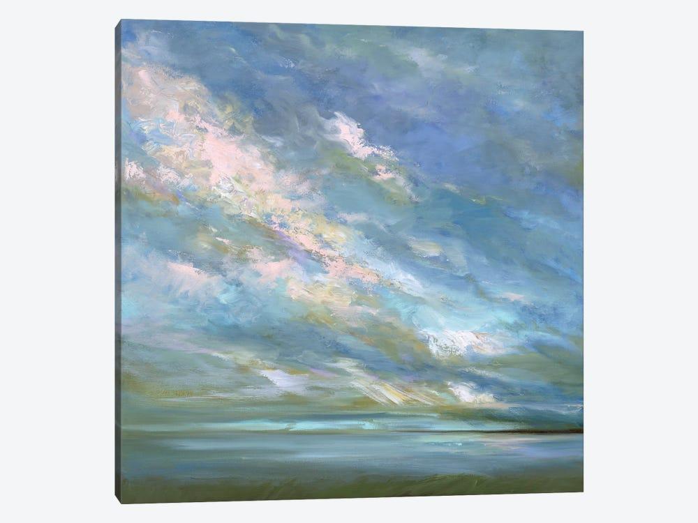 Coastal Sky III by Sheila Finch 1-piece Canvas Art Print