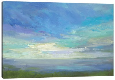 Siesta Key Sky Light Canvas Art Print
