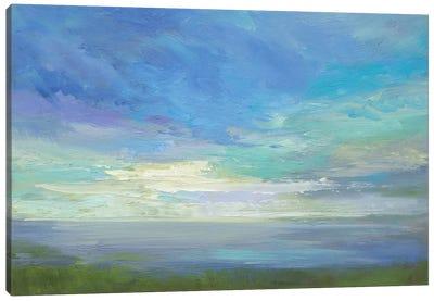 Siesta Key Sky Light Canvas Art Print