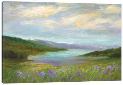 Crystal Springs Vista Canvas Art Print