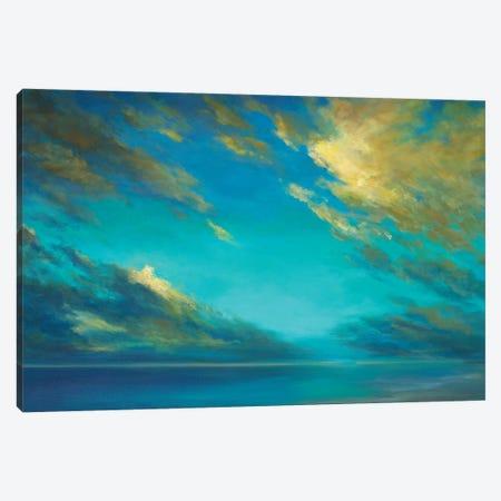 Coastal Cloudscape Canvas Print #SHE64} by Sheila Finch Canvas Art