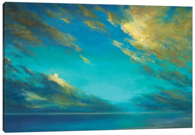 Coastal Cloudscape Canvas Art Print