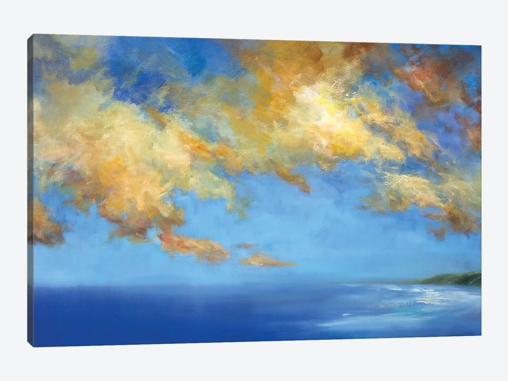 Golden Cloudscape by Sheila Finch 1-piece Canvas Artwork