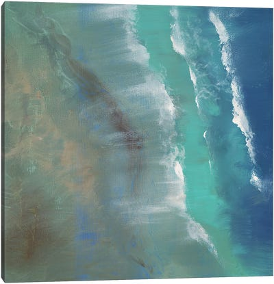 Aerial Coast II Canvas Art Print