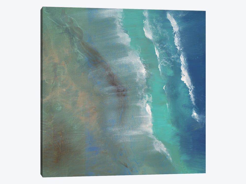 Aerial Coast II by Sheila Finch 1-piece Canvas Art Print