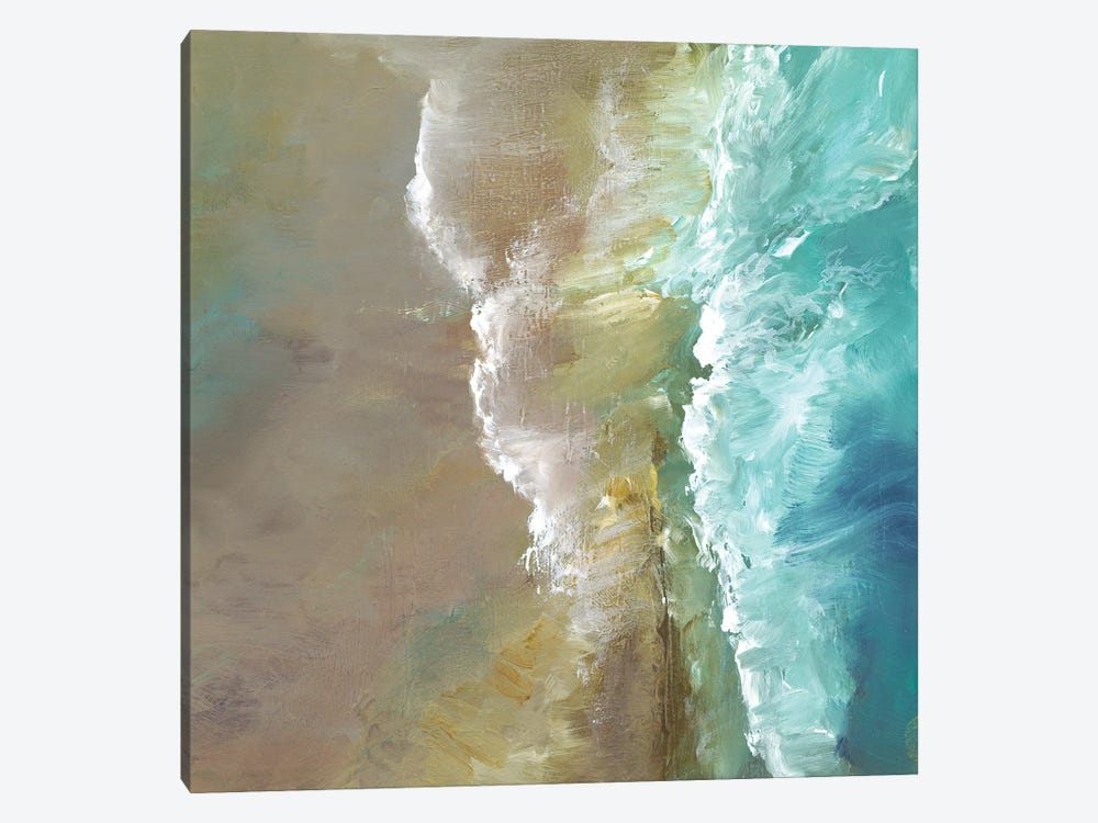 Aerial Coast III by Sheila Finch 1-piece Canvas Art