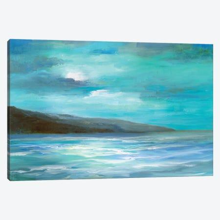 Moon Glow Canvas Print #SHE73} by Sheila Finch Canvas Art