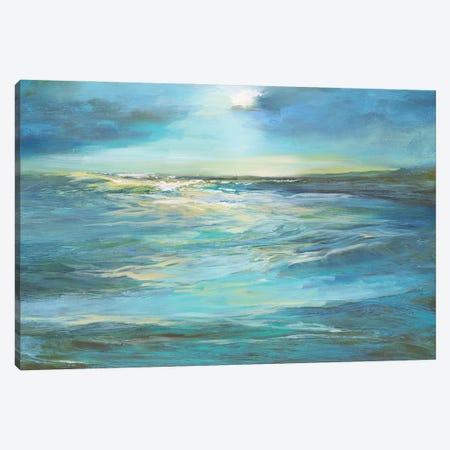 Moonlight Reef Canvas Print #SHE74} by Sheila Finch Canvas Art Print