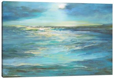 Moonlight Reef Canvas Art Print
