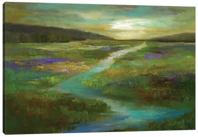 Wetlands in Autumn Canvas Art Print