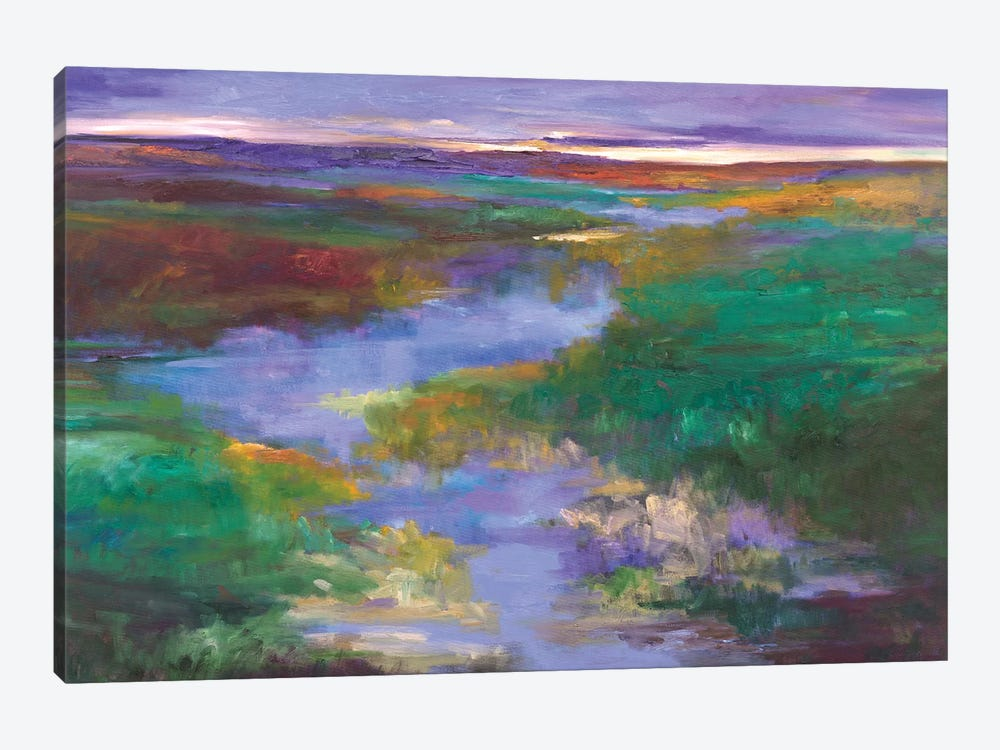 Distant Foothills by Sheila Finch 1-piece Canvas Artwork