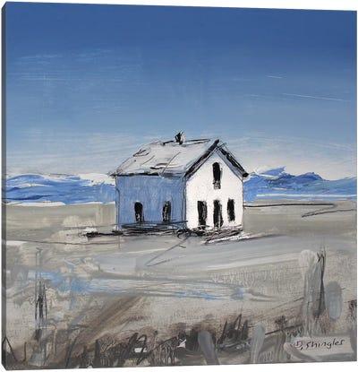 Colorado House II Canvas Art Print
