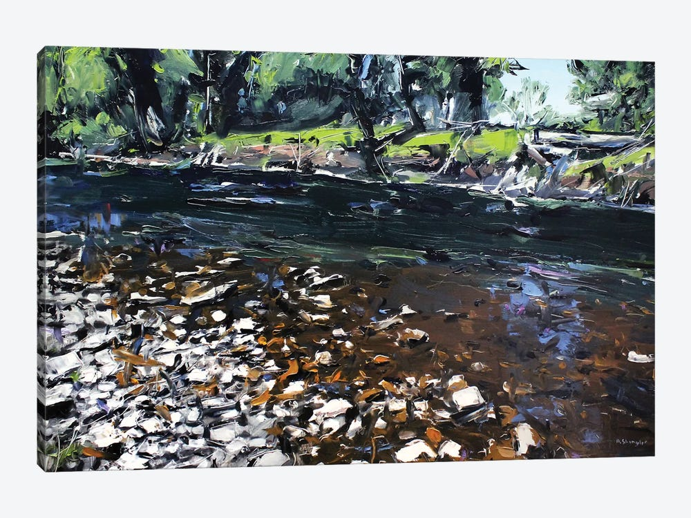 Creek Montana by David Shingler 1-piece Canvas Print