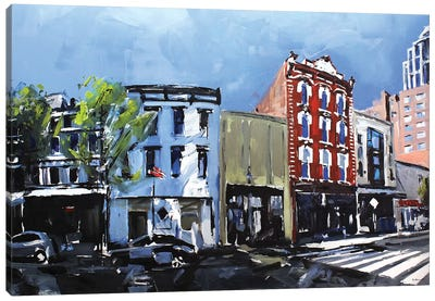 Downtown Raleigh, NC Canvas Art Print