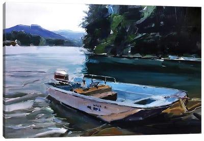 Fishing Canvas Art Print
