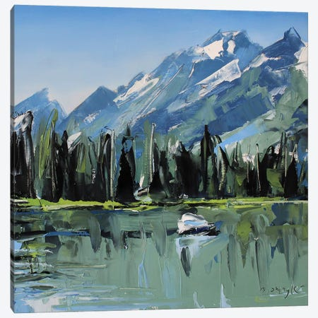 Grand Teton National Park, WY 3-Piece Canvas #SHG19} by David Shingler Canvas Artwork