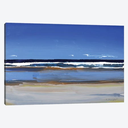Hatteras Beach, NC I 3-Piece Canvas #SHG20} by David Shingler Canvas Print