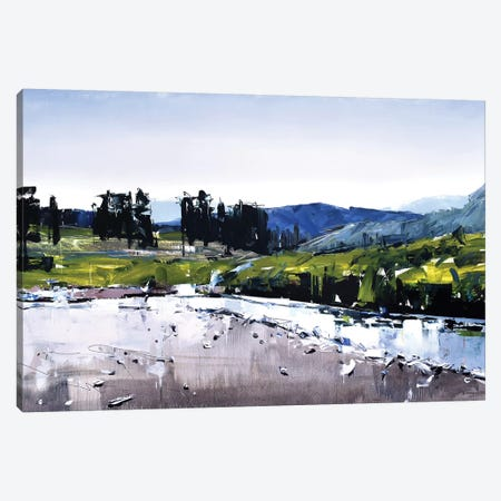 Montana River Canvas Print #SHG23} by David Shingler Canvas Art Print
