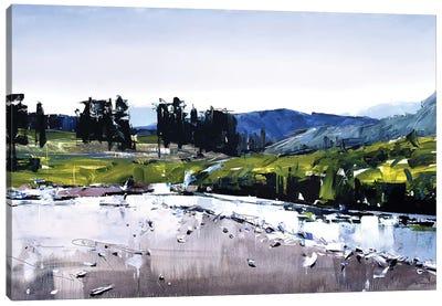 Montana River Canvas Art Print