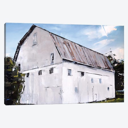 Ohio Barn Canvas Print #SHG24} by David Shingler Canvas Artwork