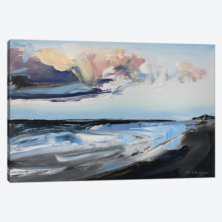 Outer Bank Clouds NC 3-Piece Canvas #SHG25} by David Shingler Canvas Art