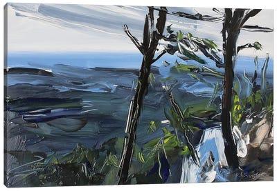 Pilot Mt., NC Canvas Art Print