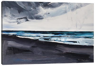 Pine Knoll Shores, Atlantic Beach, NC Canvas Art Print